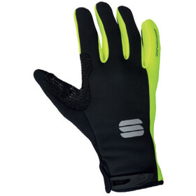 Sportful Essential 2 Handschuhe black/yellow fluo